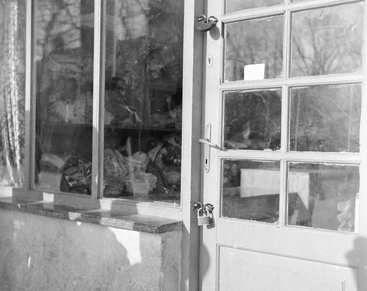Warsztat nieczynny z powodu że zamknięty